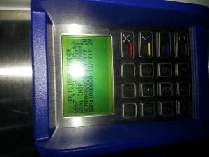 Der Fahrkartenautomat ist wohl nicht so ganz funktionsfähig