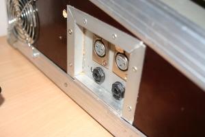 Lautsprecher Ausgänge und Lüfter