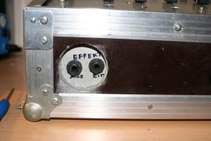Effektgeräte Ein/Ausgänge (Geht an einen Mic Kanal)