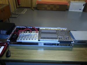 24 Kanal DMX Lichtmischpult, MCCrypt 8Kanal Audiomischer