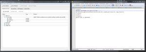Die Skripte können in SQLite Datenbanken umgesetzt werden :)