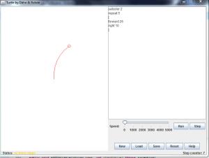 Java GUI mit Beispiel Logo-Code
